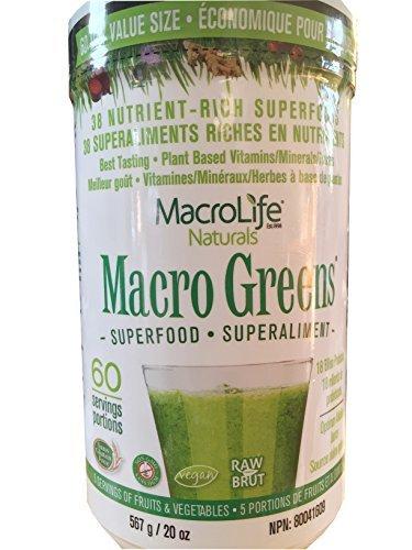 Macro Life Naturals Macro Greens - Macro Greens