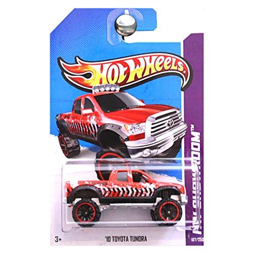 Hot Wheels 2013 HW Showroom '10 Toyota Tundra Truck Rojo