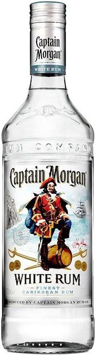 Ron - Captain Morgan White 70 cl: Amazon.es: Alimentación y ...