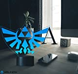 Legend of Zelda Triforce Lighting Decor Gadget Lamp + Sticker Decor for Perfect Set, Awesome Gift (MT022) by Holinox