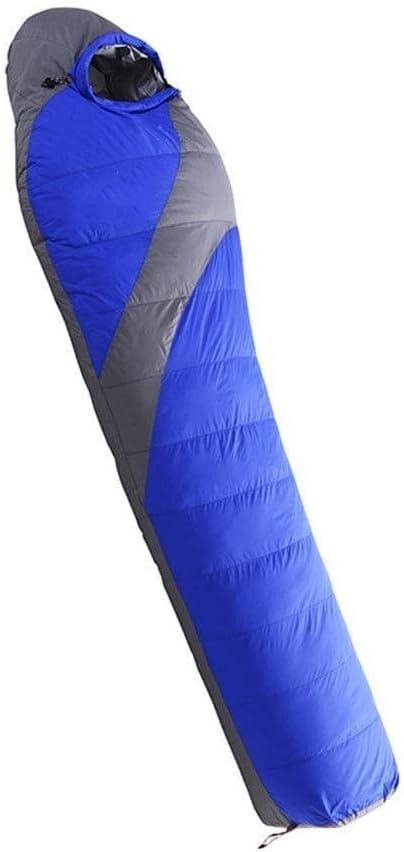 Duraderos, bolsos, luz impermeable y transpirable y sacos de dormir caliente de la momia saco de dormir cómoda bata, naranja, 215 * 78 * 55 cm de tamaño Nombre: 215 * 78 *