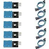 temperature sensor arduino - HiLetgo 5pcs DHT11 Temperature and Humidity Sensor Module for Arduino Raspberry Pi 2 3