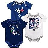Toronto Blue Jays Newborn Go Team 3-Piece Creeper Set