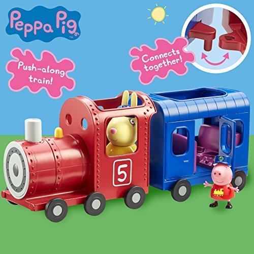 Peppa Pig Miss Rabbits Train & Carriage Playset
