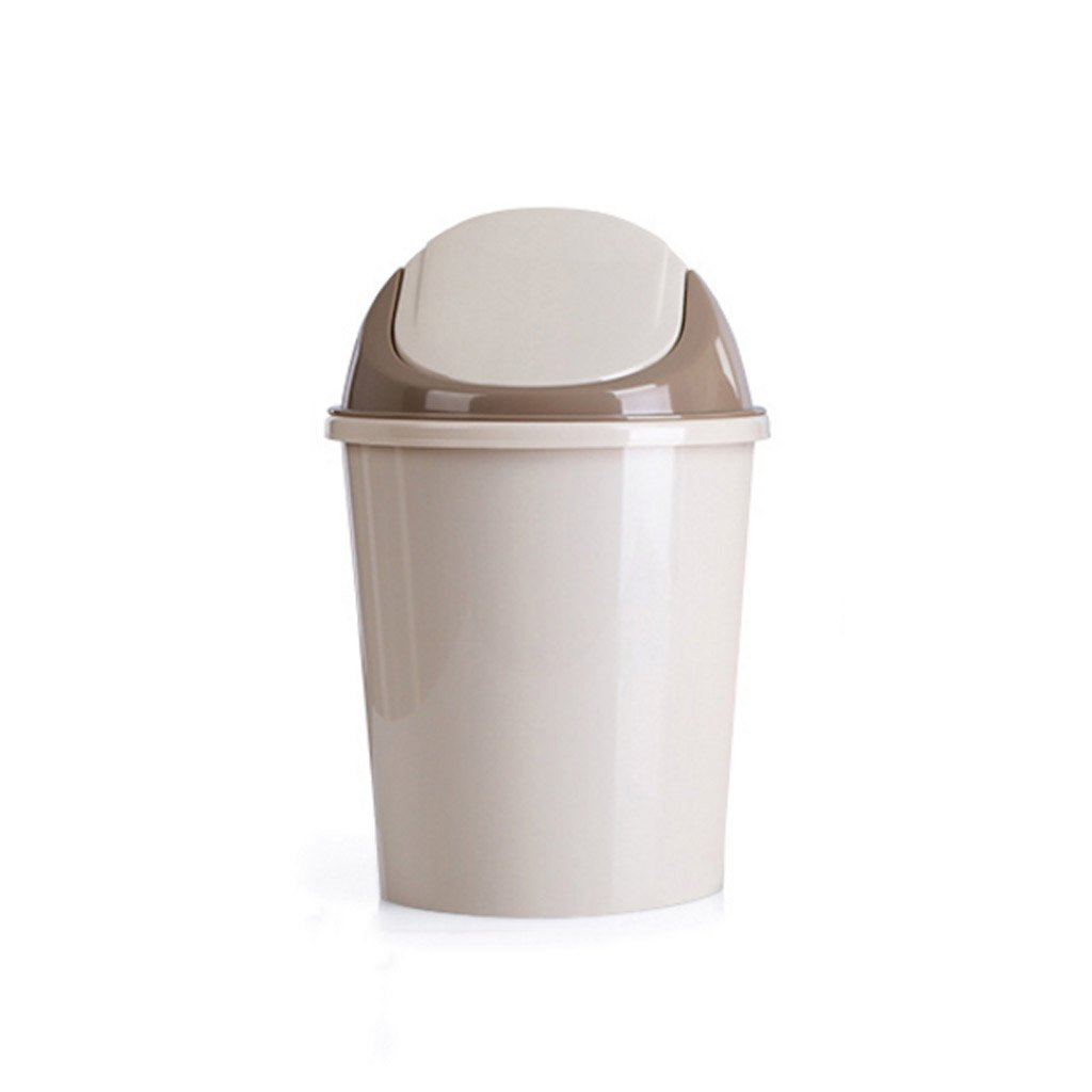 Meters Creative green home trash toilet living room kitchen bedroom lid type trash can