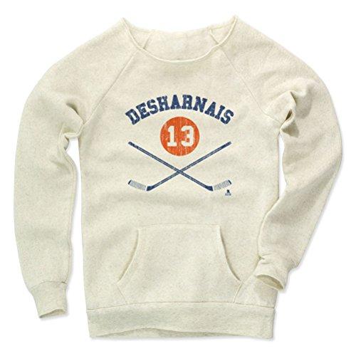 David Desharnais Sticks B Edmonton Women's Maniac Sweatshirt M Wheat