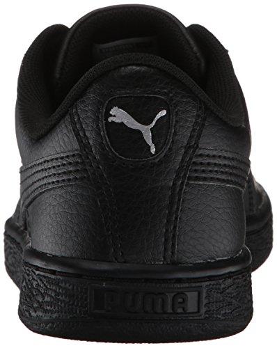 PUMA Baby Basket Classic LFS Kids Sneaker, Black Black, 9 M US Toddler