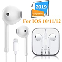 Lighting Connector Earbuds Earphone Wired Headphones Headset with Mic and Volume Control,Easy to Use,Compatible with iPhone 11 Pro Max/Xs Max/XR/X/7/8 Plus Plug and Play Marine GPS Chartplotters