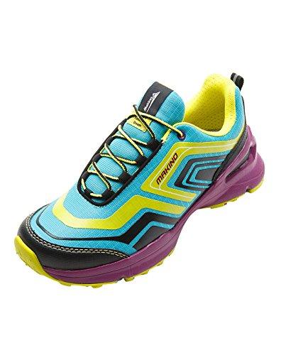 Makino Women's Trail Running Shoes Hiking Trainers-Non-Slip Breathable 2002 (Trail Slip)