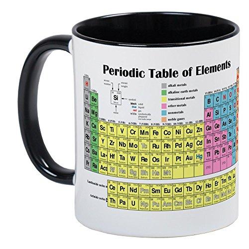 CafePress - Periodic Table Of Elements Mug - Unique Coffee Mug, Coffee - Periodic Unique Tables