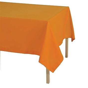 Tovaglie Da Tavola Bassetti.Tovaglia Da Tavola Pantone Universe Bassetti 12 Posti 140x250 Cm M930 Arancione