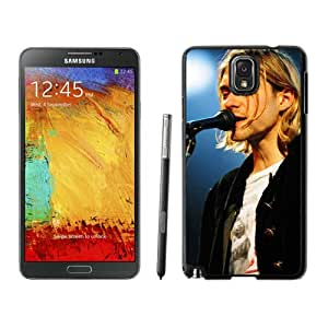 Hot Sale Samsung Galaxy Note 3 Screen Cover Case With Kurt Cobain 1 Black Samsung Note 3 Case Unique And Beautiful Designed Phone Case