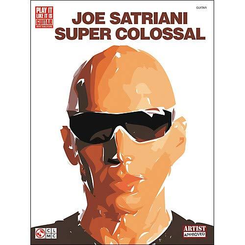 Joe Satriani Super Colossal Guitar Tab Songbook Pack of 2 (Super Colossal Guitar Tab Book)
