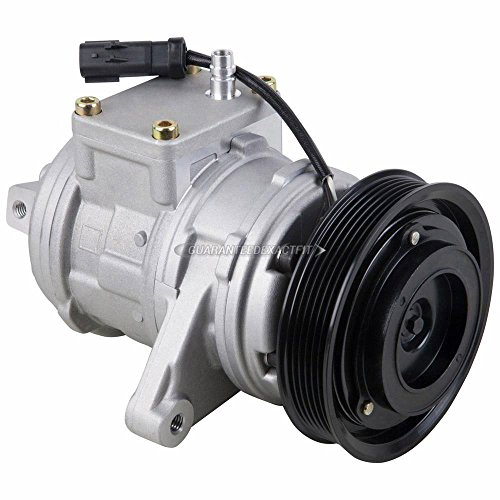 (AC Compressor & A/C Clutch For Jeep Grand Cherokee TJ Wrangler - BuyAutoParts 60-01460NA New)