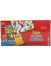 Toyxbox Small ludo and snakes & ladders