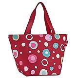 Reisenthel Loopshopper M, Shopping Basket, Bag, Grocery Basket, Funky Dots 2 (Red), ZS3048