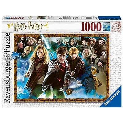 Der Zauberschler Harry Potter Puzzle Mit 1000 Teilen