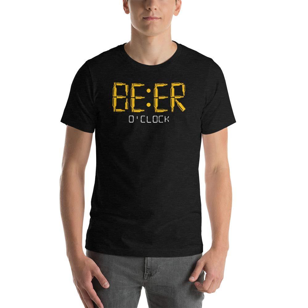 Alpha5StarDeals Beer Drinking OClock Short-Sleeve Unisex T-Shirt