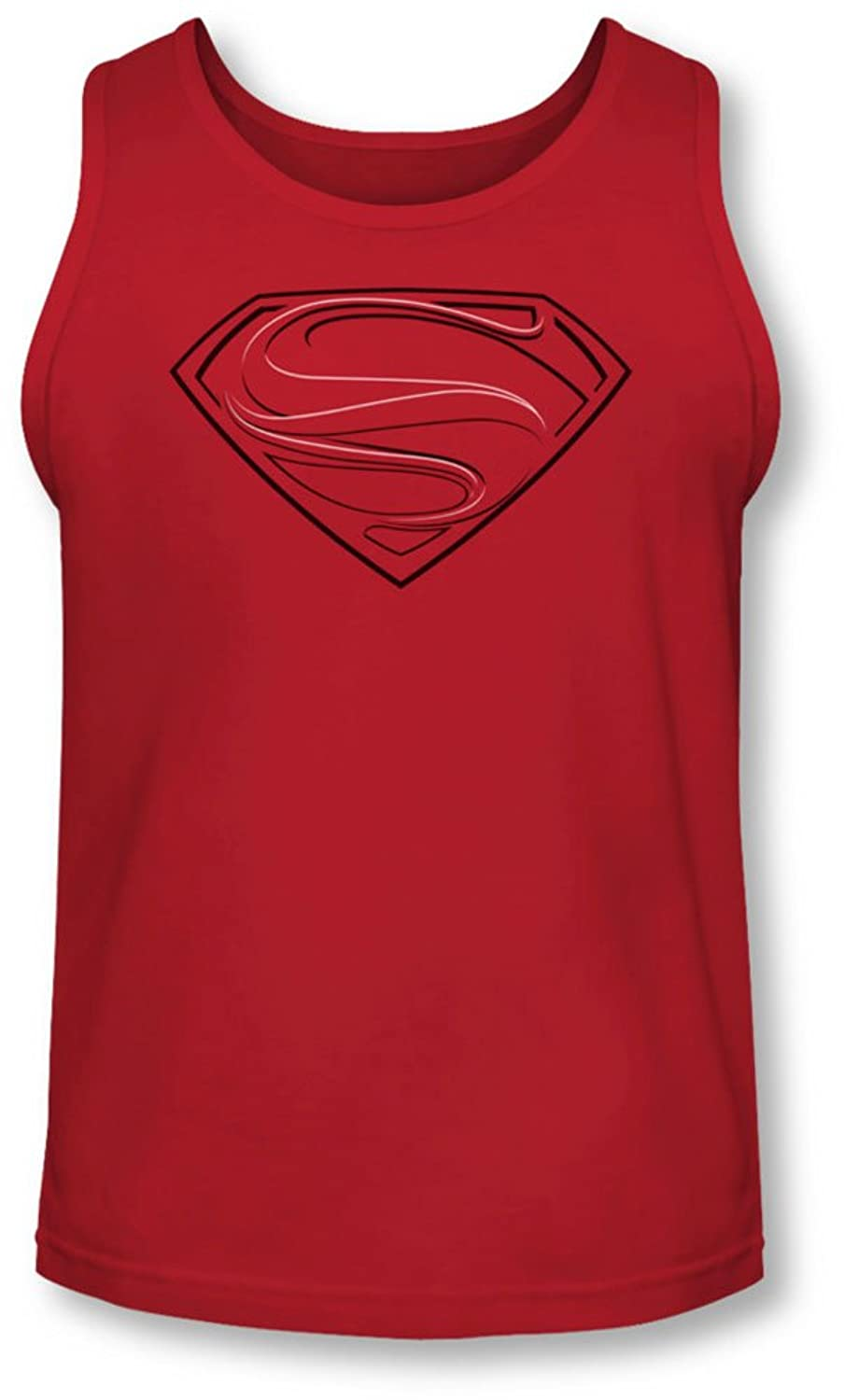 Man Of Steel - Mens Glph Lines Tank-Top