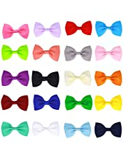 20 Pcs Baby Girl Boutique Grosgrain Ribbon Hair Bows Alligator Clips For Teens Kids Toddlers Children(2.75 Inch) …