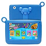 SODIAL(R) Kids Tablets Android 7 Inch 1280x800 IPS Display with Parental Control Software - for Learning Wifi Camera 3D Game HD Video Supported Blue
