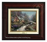Thomas Kinkade Twilight Cottage 8'' x 10'' Canvas Classic (Burl)