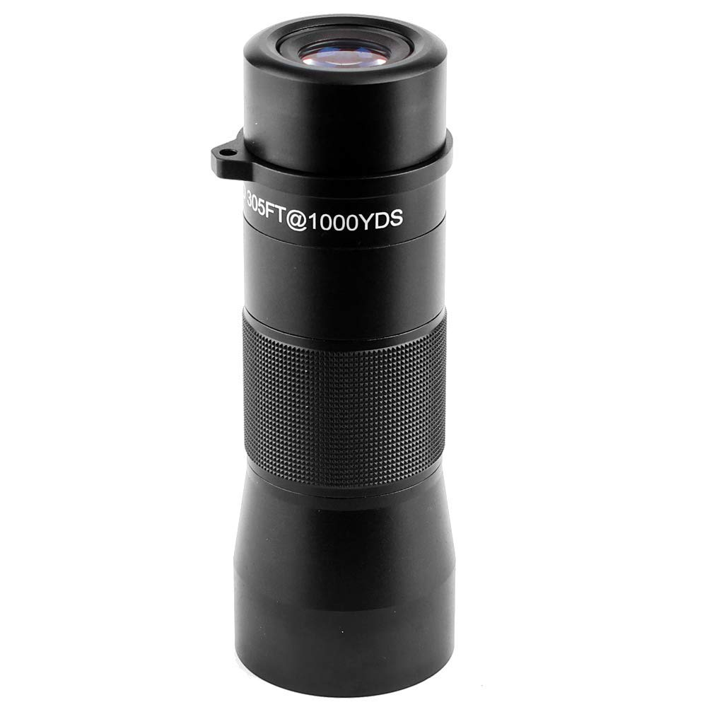 Gosky 10x42 Metal Monocular Telescope, Handy Ultra HD Monocular for Bird Watching Sports Travelling Camping Hiking Hunting and Outdoor Activities (Black) by Gosky (Image #7)