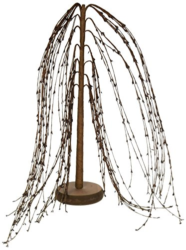 Weeping Willow Branch (CWI Gifts Weeping Willow Tree, 18-Inch, Burgundy)