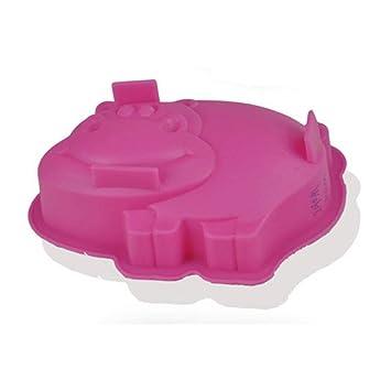 Molde de silicona molde de Pudding Mousse para horno de microondas