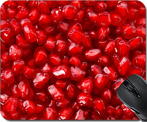 MSD Natural Rubber Mousepad Mouse Pads/Mat design 28244178 Pomegranates seeds for food background