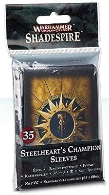 Warhammer 40K Shadespire Steelheart's Champions Sleeves from Games Workshop