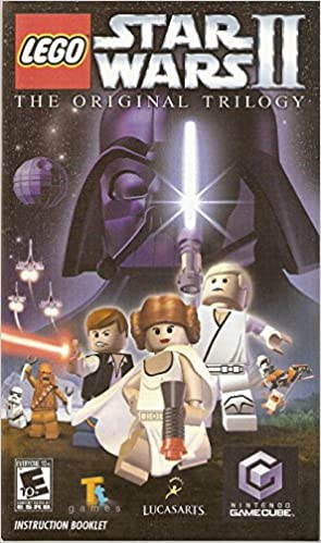 Lego Star Wars Ii The Original Trilogy Instruction Booklet Nintendo Gamecube Game Manual User S Guide Only No Game Tt Games Lucas Arts Nintendo Game Cube Amazon Com Books