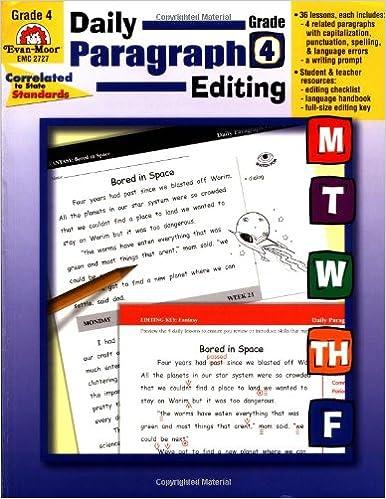 Amazon.com: Daily Paragraph Editing, Grade 4 (0023472027276): Evan ...