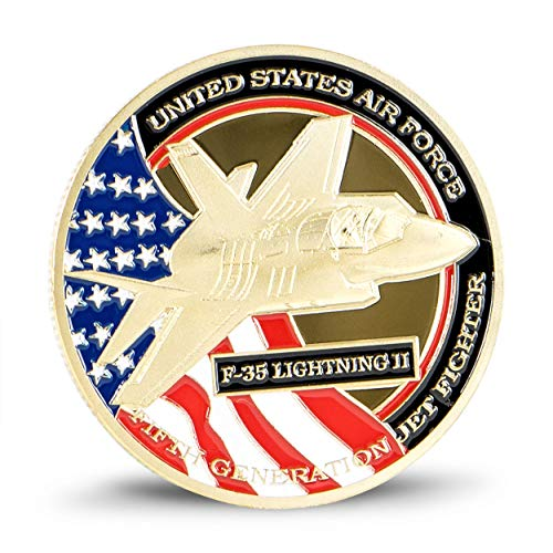 Art Crafter United States Lockheed Martin F-35 Lightning II Challenge Coin Airforce Badge K001J