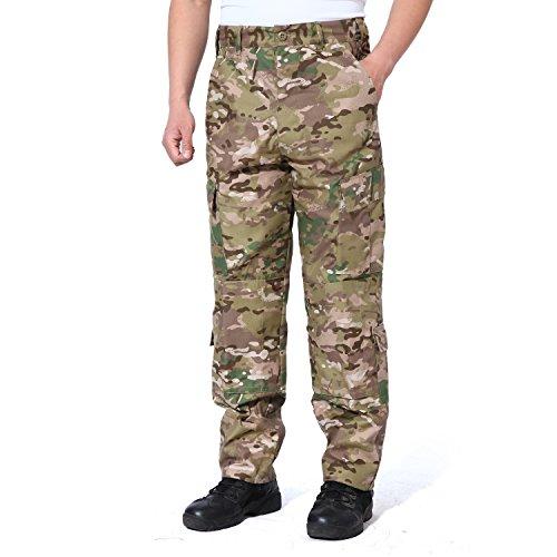 MAGCOMSEN Military Tactical Camo Airsoft Paintball Shooting Pants Combat Men Pants