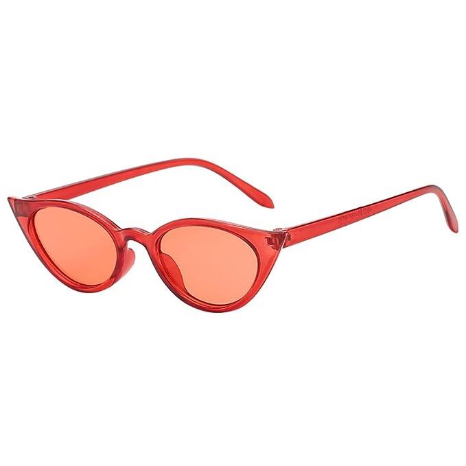 JiaMeng Gafas de sol Polarizadas Hombre & Mujer Gafas de Sol de Forma Irregular de Ojo