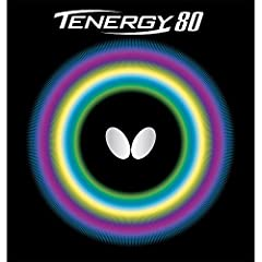 Butterfly Tenergy 80 has a unique feeling using a combination ofSpring Spongetechnology,High Tensionrubber, and a tacky surface. It is excellent for a variety of playing styles due to its versatility. The designation of 80 in the name was...