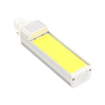 Inicio bombillas led G24 COB 9W 800-900LM Luz blanca blanca caliente fresca del enchufe