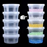 Slime Storage Containers for Slime, Foam Ball Beads