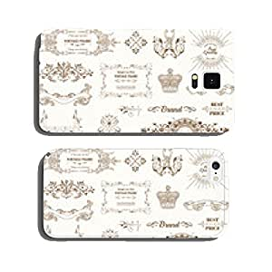 Vector Set: Vintage Frames and Banners, Calligraphic Elements cell phone cover case iPhone6 Plus
