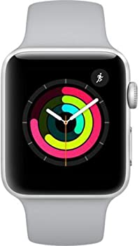 Apple Series 3 42mm GPS Silver Aluminum Case with Fog Sport Band
