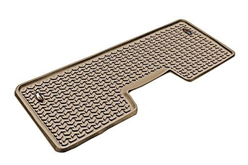 (Rugged Ridge All-Terrain 83952.12 Tan Second Row Floor Liner For Select Ford F-150 Models)