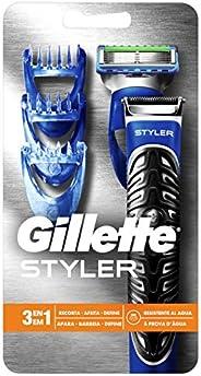 Barbeador Elétrico Gillette Styler 3 em 1, Gillette