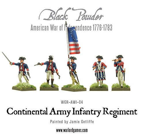 Colonial Militia Men Warlord Games 28mm Black Powder WGR-AWI-06
