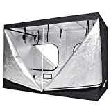 LAGarden 118x60x78″ 600D 100% Reflective Mylar Hydroponics Indoor Grow Tent Non Toxic Planting Room 9.8x5x6.5ft Review
