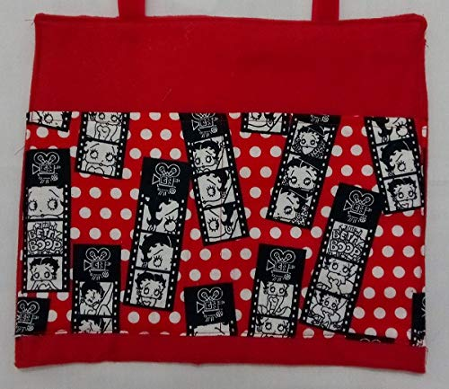 Betty Boop Bag Pouch Storage Walker Wheelchair Stroller Grocery Cart etc. from Craft and Sewing Box