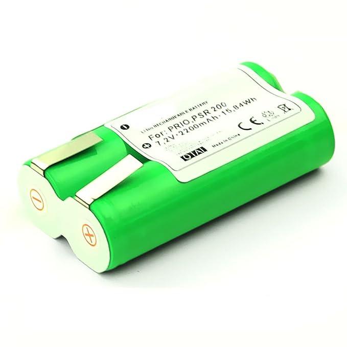 Batterie 7,2V 2.2Ah Li-Ion pour Bosch PSR 7.2 LI, PSR 200 LI, Prio Lithium-ion / BST200