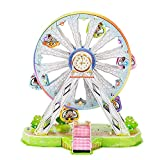 Jigsaw Puzzles, Newisland Music Ferris Wheel Educational 3D Building Peice Set with Marquee