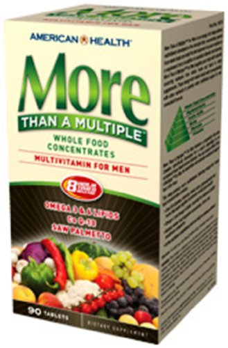 More Than A Multiple For Men (Whole Food Concentrate) American Health Products 90 Tabs