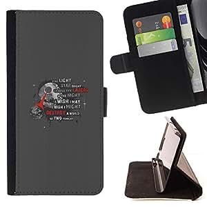 Momo Phone Case / Flip Funda de Cuero Case Cover - Estrella de la Muerte;;;;;;;; - Samsung Galaxy S3 III I9300
